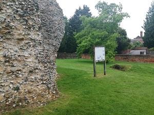 Saffron_Walden_Castle_Soft_Capping_Walls_Bakers_of_Danbury