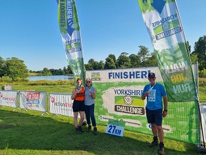 Yorkshire Challenge 2021 CALM Collins and Curtis Masonry