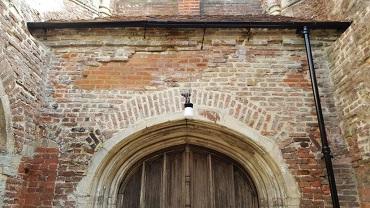 brick repairs to tower ruins repairs st marys_east_bergholt masonry repair works