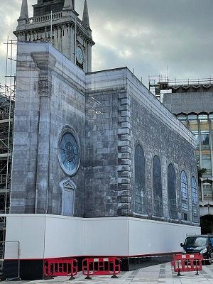 conservation and restoration of st lawrence jewry in london